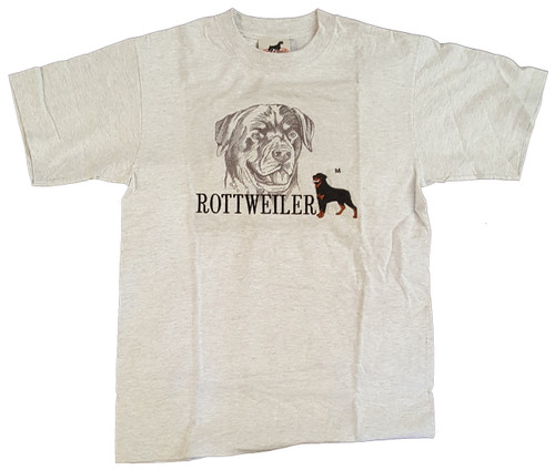 Gr8 Dog Classic Line T-Shirt - Rottweiler (1006AS)