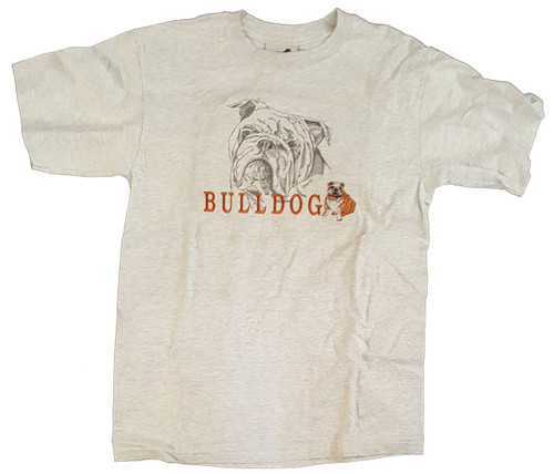 Gr8 Dog Classic Line T-Shirt - Bulldog (1010AS)