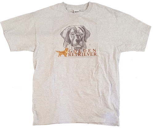 Gr8 Dog Classic Line T-Shirt - Golden Retriever (1012AS)