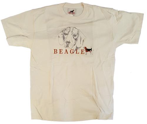 Gr8 Dog Classic Line T-Shirt - Beagle (1022NT)