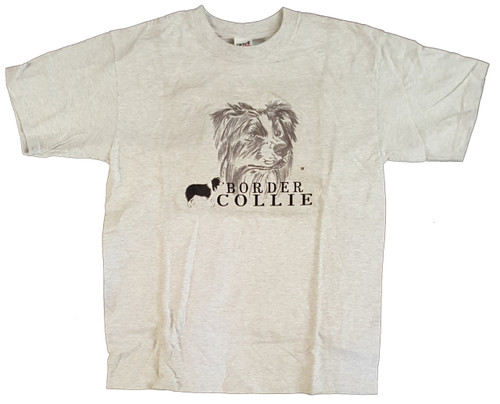 Gr8 Dog Classic Line T-Shirt - Border Collie (1028AS)