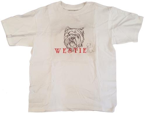Gr8 Dog Classic Line T-Shirt - West Highland Terrier (Westie) (1031WH)