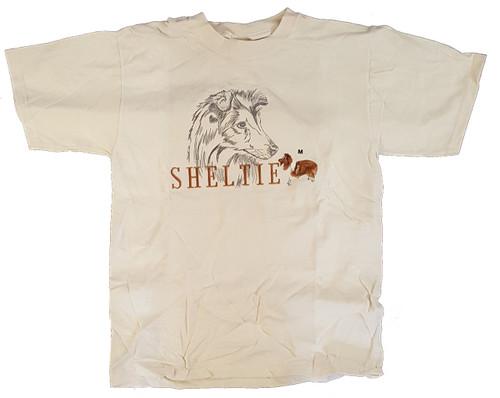 Gr8 Dog Classic Line T-Shirt - Shetland Sheepdog (Sheltie) (1035NT)