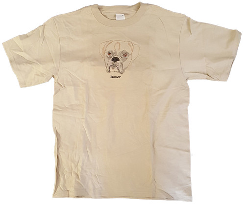Gr8 Dog Brand Eyes Design Boxer T-Shirt (7109CS)