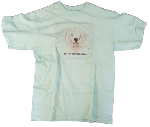 Gr8 Dog Brand Eyes Design Wheaten Terrier T-Shirt (7164CG)