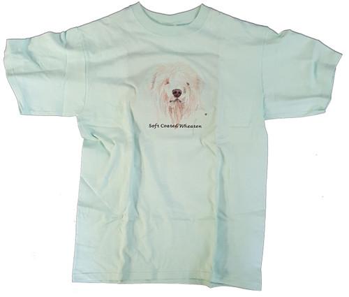 Gr8 Dog Brand Eyes Design Wheaten Terrier T-Shirt (7164CG)