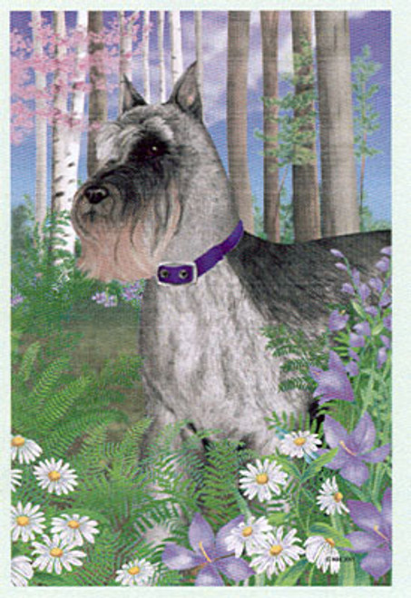 Gr8 Dog Schnauzer House Flag (5020)