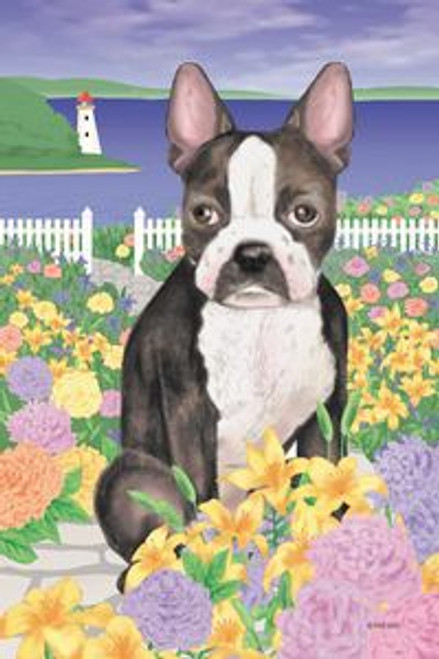 Gr8 Dog Boston Terrier House Flag (5027)