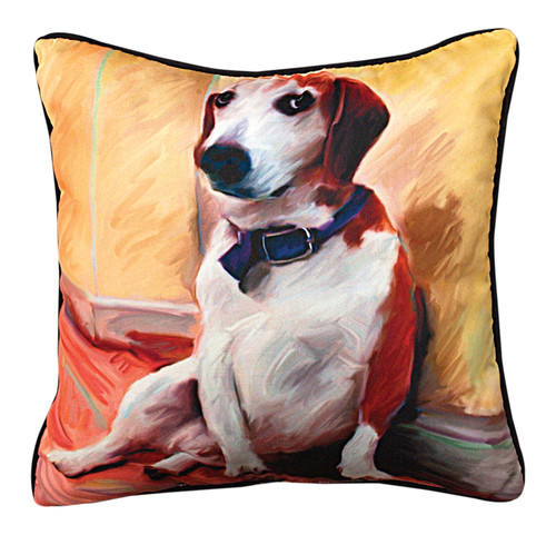 Paws & Whiskers 18in Pillow - Being A Beagle (MW-SLBBBG)