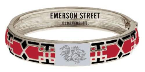 Emerson Street Clothing Mosaic Bangle - University of South Carolina (20SC163)