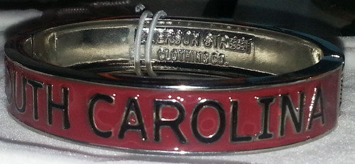 Emerson Street Clothing School Bangle - University of South Carolina (21SC163)