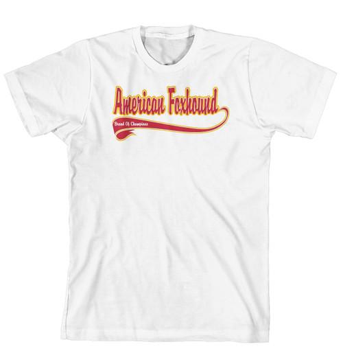 Breed of Champion Tee Shirt - American Foxhound (170-0001-112)