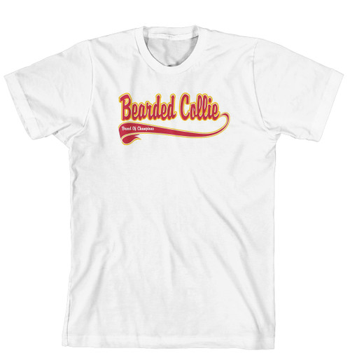 Breed of Champion Tee Shirt - Bearded Collie (170-0001-132)