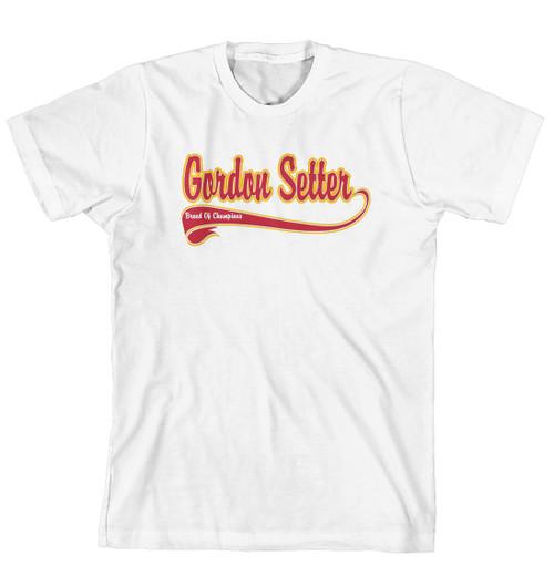 Breed of Champion Tee Shirt - Gordon Setter
