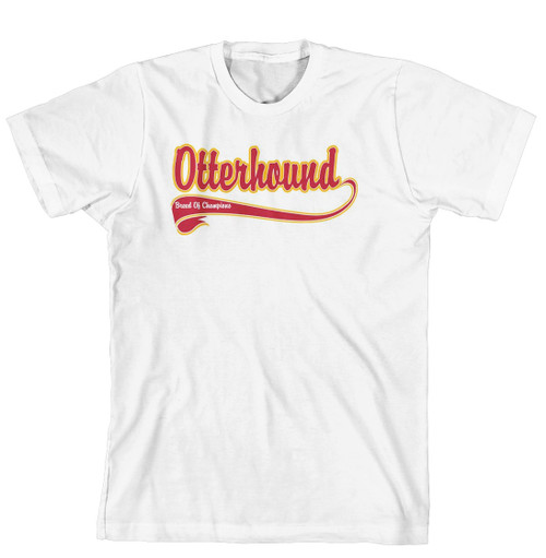 Breed of Champion Tee Shirt - Otterhound