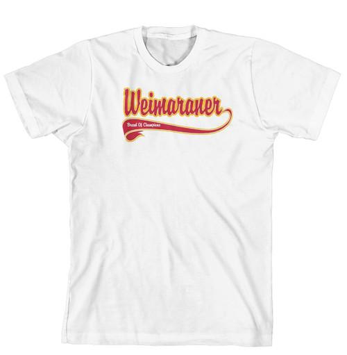 Breed of Champion Tee Shirt - Weimaraner