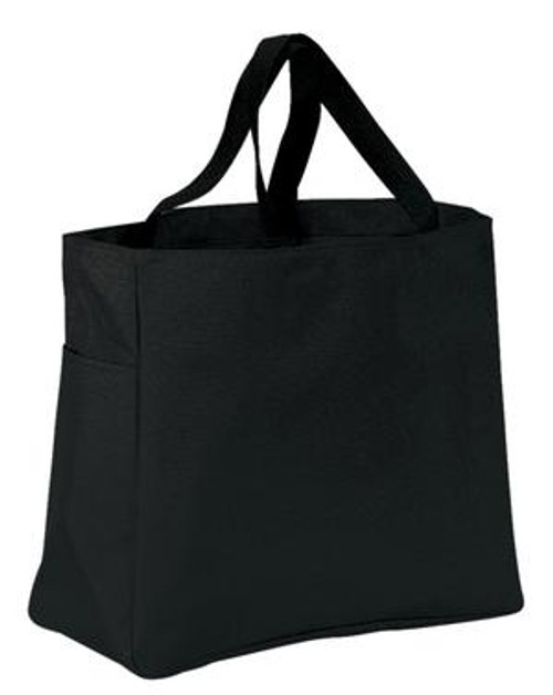 Port Authority Essential Tote - Black