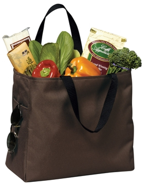Port Authority Essential Tote - Brown