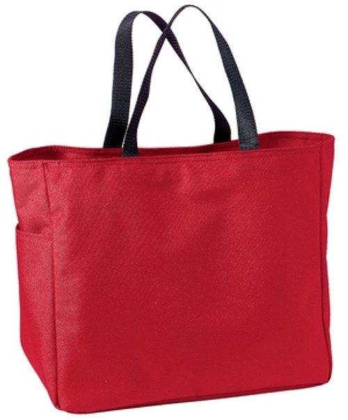 Port Authority Essential Tote - Red
