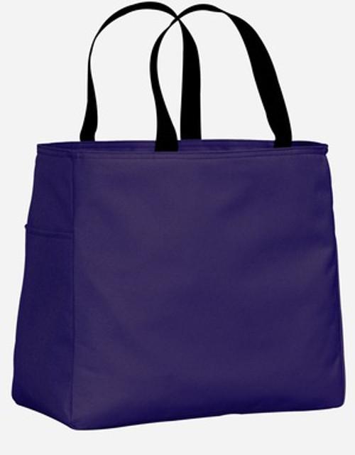Port Authority Essential Tote - Purple
