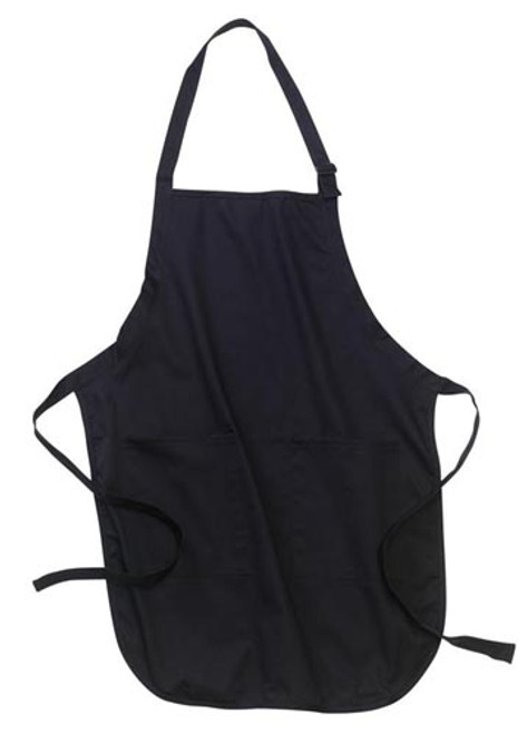 Port Authority Full Length Apron with Pockets - Navy