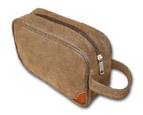 Classic Toiletries Case Dopp Kit - Dark Brown (BL103B)