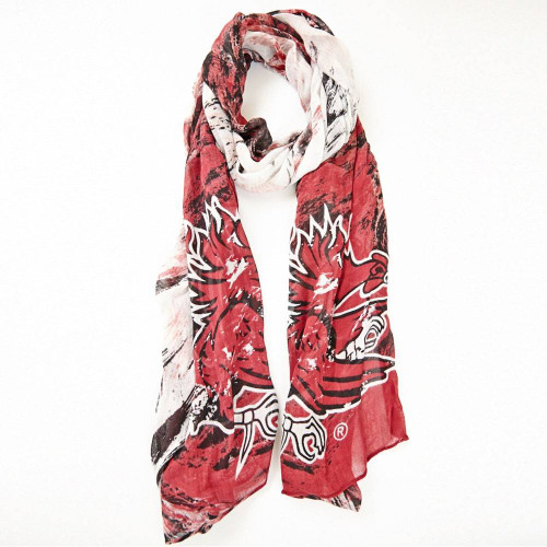 University of South Carolina Gamecocks Water Color Scarf from Emerson street Clothing