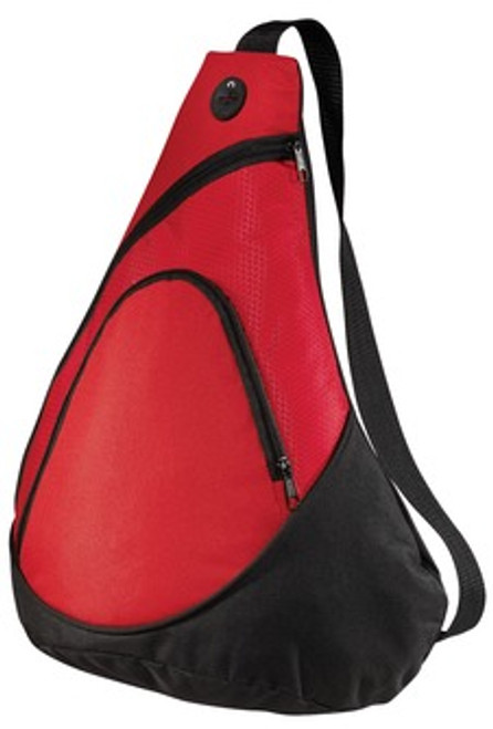 Honeycomb Sling Pack - Red