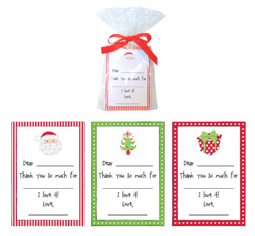 Kids Christmas Thank You Note Cards (KSPP/5411)