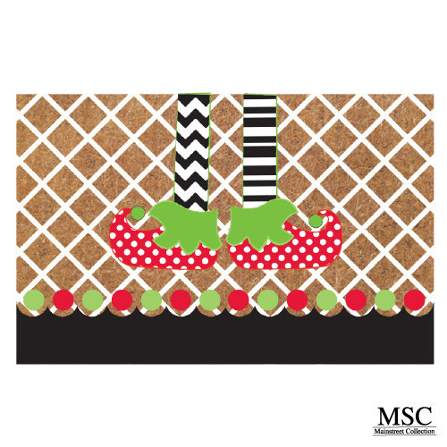 Christmas Doormat - Elf Legs (DMEL/6868)