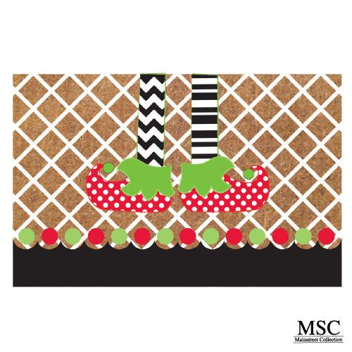 Christmas Doormat - Elf Legs (DMEL/6868)