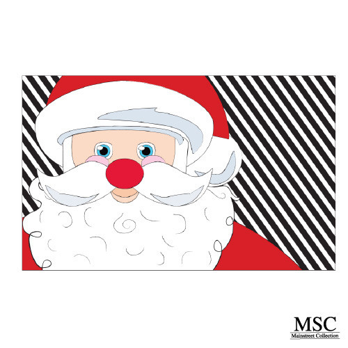 Christmas Doormat - Santa (DMSA/6871)