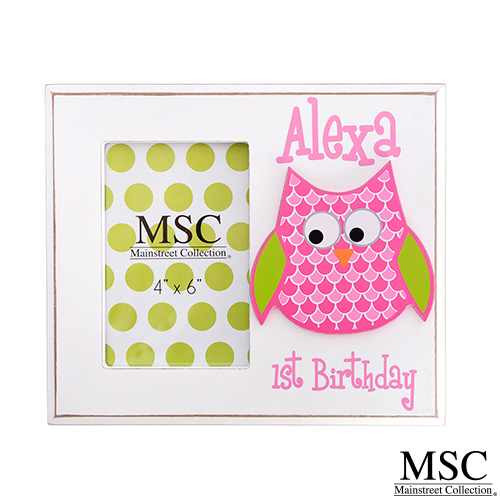 Mainstreet Collection Picture Frame - Owl (PFOW/8212)