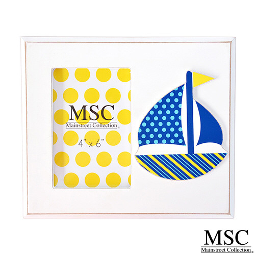 Mainstreet Collections (MSC) Picture Frame - Sailboat (PFSB/8215)