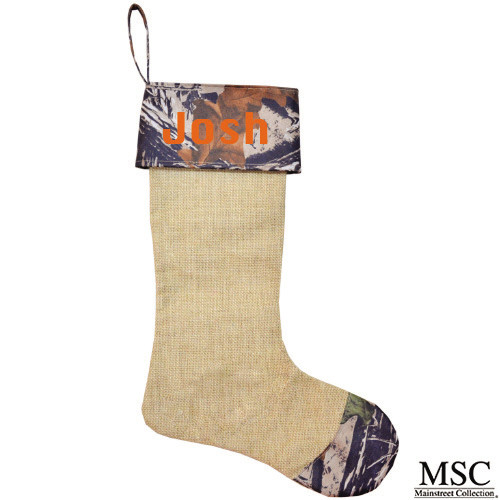 Camo Christmas Stocking (STCA/6933)