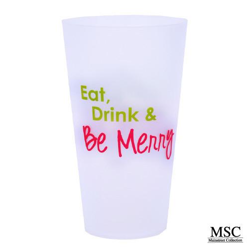 Christmas Tumbler - Eat,Drink & Be Merry (MSC-VTHB/7054)
