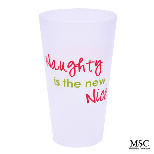 Christmas Tumbler - Naughty is the New Nice (VTHN/7053)