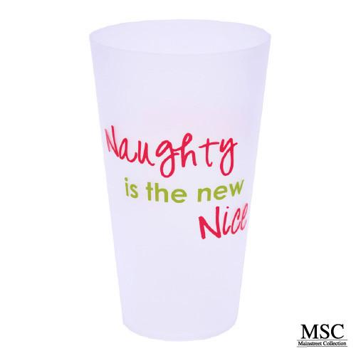 Christmas Tumbler - Naughty is the New Nice (VTHN/7053)