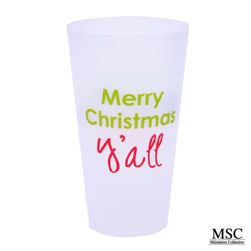 Christmas Tumbler Set - Merry Christmas Yall