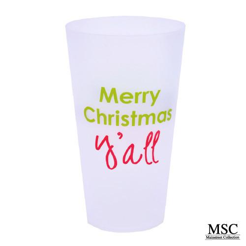 Christmas Tumbler Set - Merry Christmas Yall
