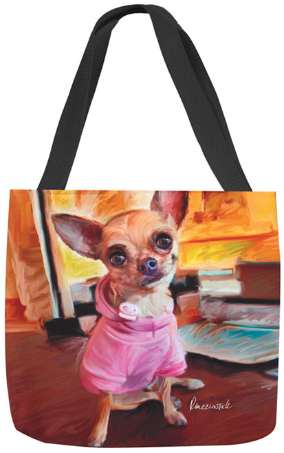 Paws & Whiskers 18in Tote Bag - Chihuahua Bella (SOCBCH)