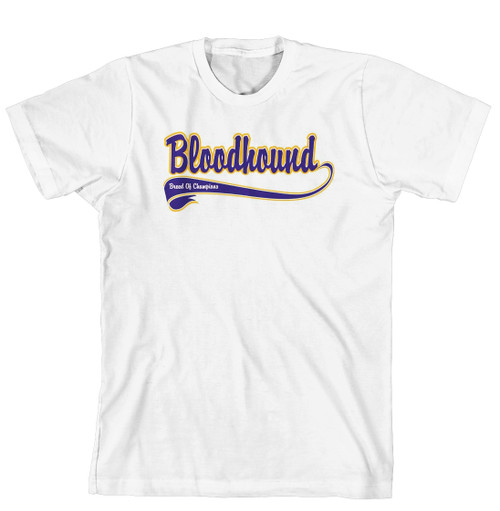 Breed of Champion Tee Blue Shirt - Bloodhound