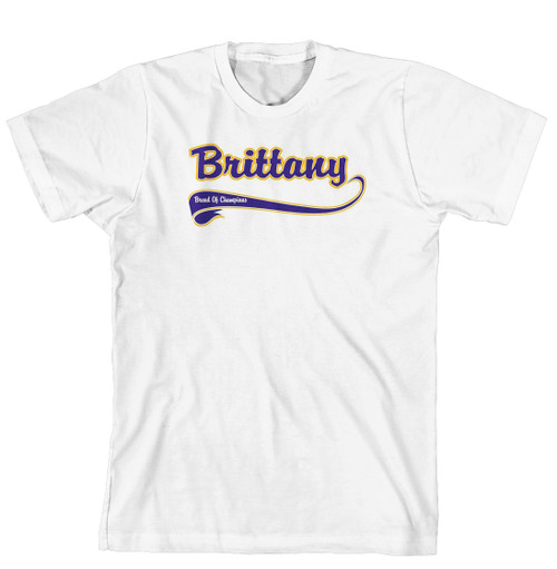 Breed of Champion Tee Blue Shirt - Brittany