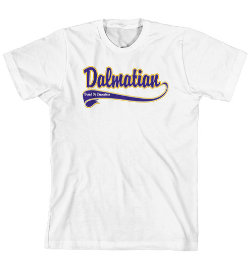 Breed of Champion Tee Blue Shirt - Dalmatian