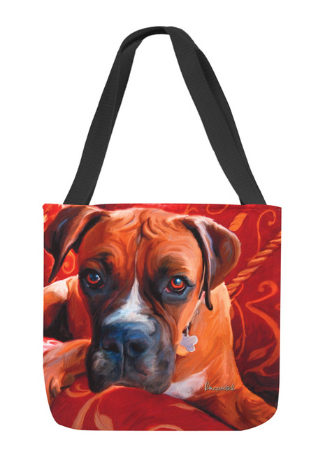 Paws & Whiskers 18in Tote Bag - Harry Boxer (SOHBXR)