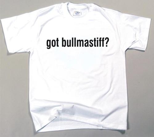 Got Bullmastiff T-shirt (170-0003-176)