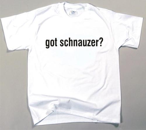 Got Schnauzer T-shirt (170-0003-388)