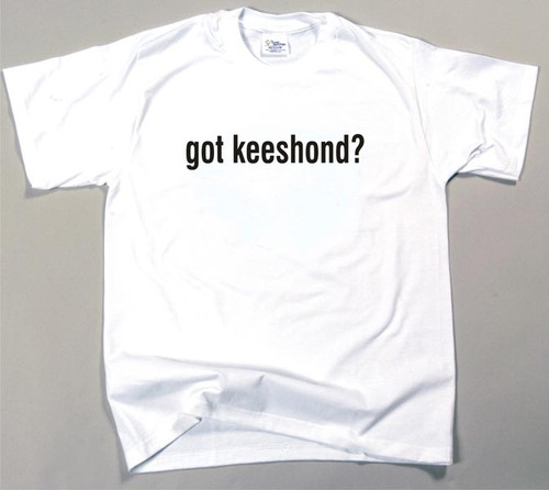 Got Keeshond T-shirt (170-0003-276)