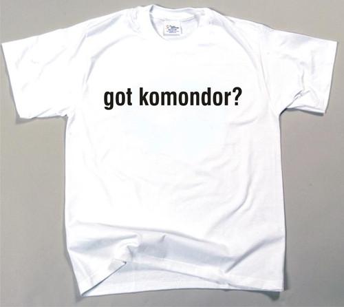 Got Komondor T-shirt (170-0003-280)