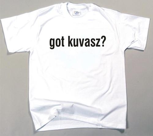Got Kuvasz T-shirt (170-0003-282)
